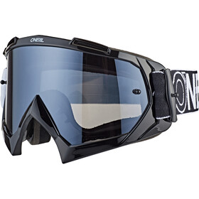 O'Neal B-10 Lunettes de protection, twoface black/white-mirror silver